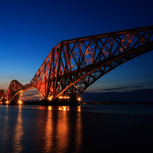 """Forth at night"" stock image"