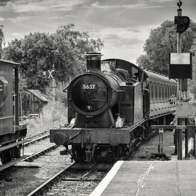 """GWR 56xx Class No.5637"" stock image"