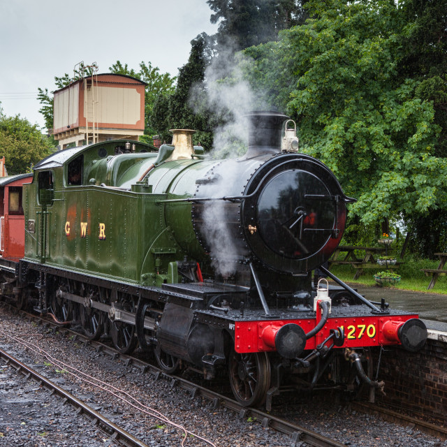 """GWR 4200 Class No.4270"" stock image"