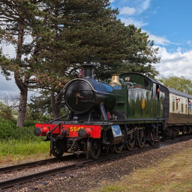 """GWR Class 4575 No.5542"" stock image"