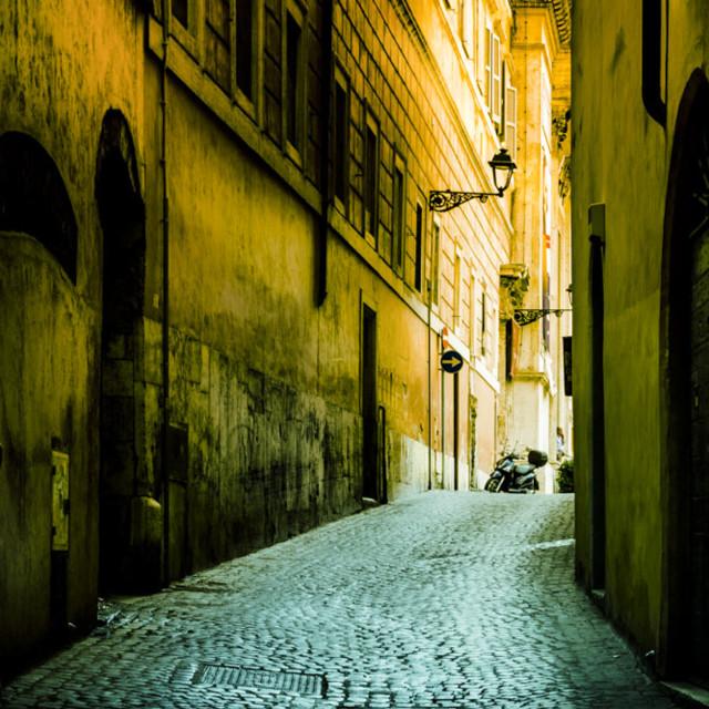 """Rome Street"" stock image"