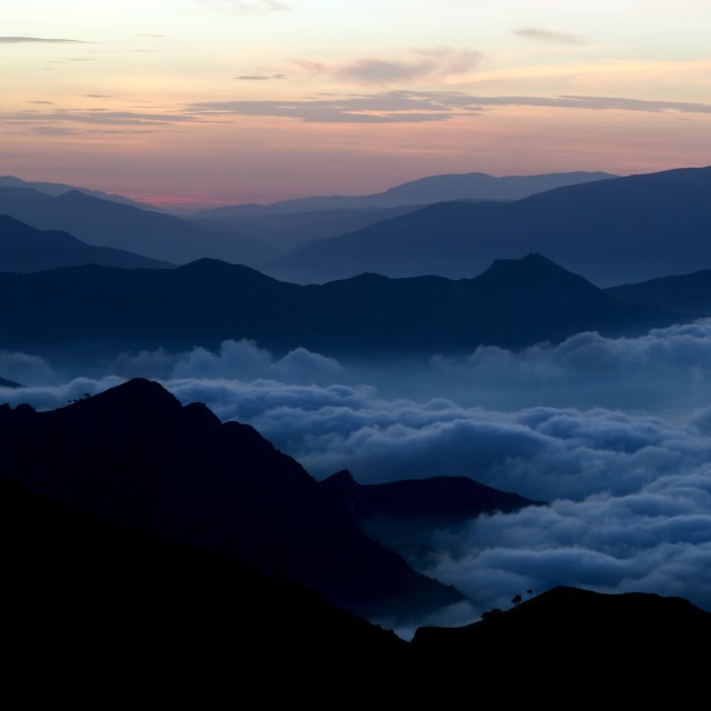 """sea of clouds 2"" stock image"