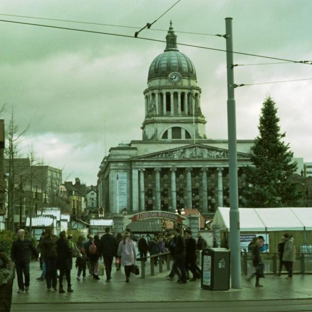 """""""Nottingham, UK"""" stock image"""