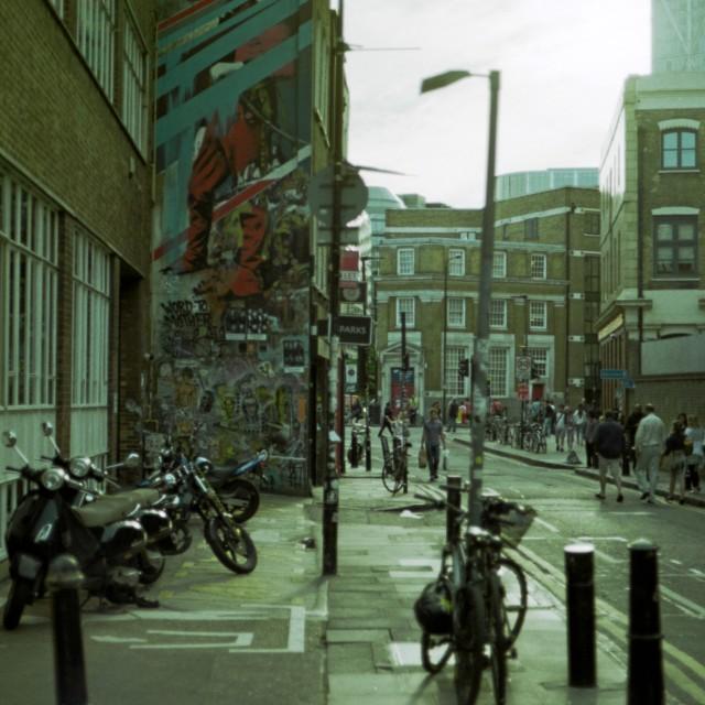 """Shoreditch, London"" stock image"