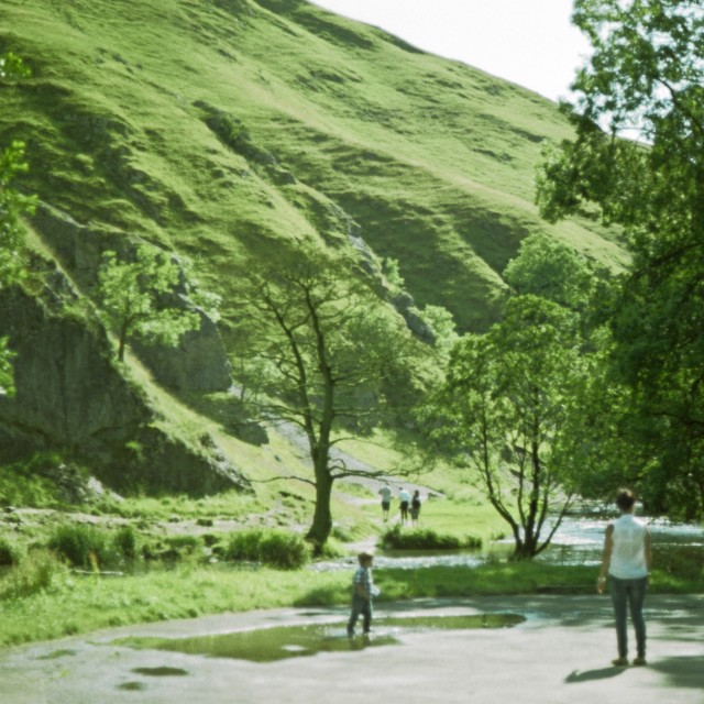 """Dovedale, Derbyshire"" stock image"