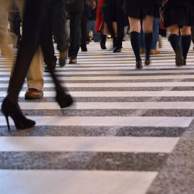 """Shibuya Crossing Tokyo"" stock image"