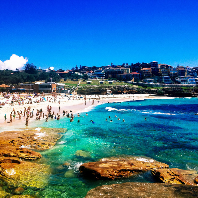 """Bronte Beach"" stock image"