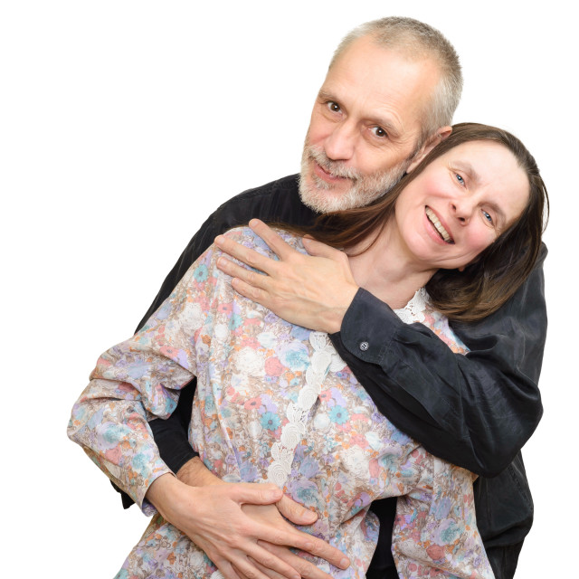 """Mature Man and Woman"" stock image"