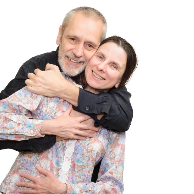 """Mature Man and Woman"" stock image"