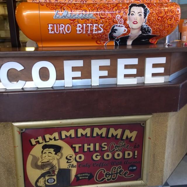 """""""Retro Coffee"""" stock image"""