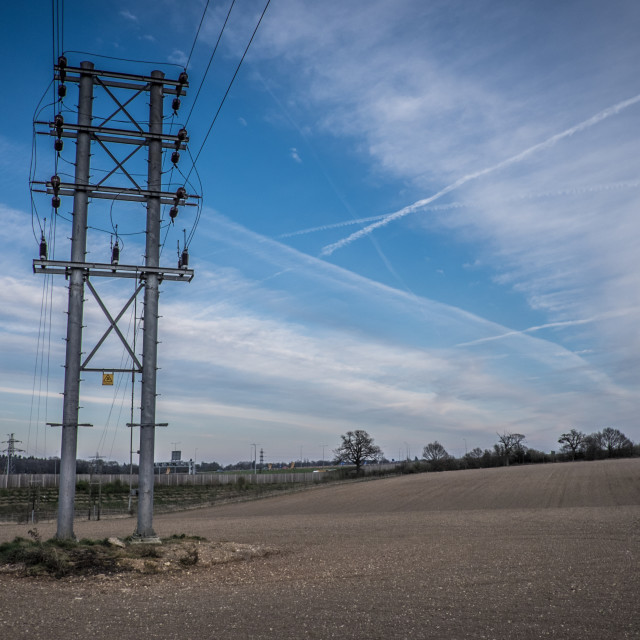 """Pylon 1"" stock image"