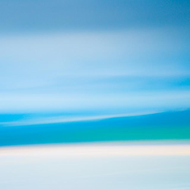 """""""Coastal Abstract I"""" stock image"""
