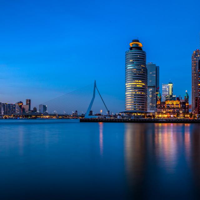 """Rotterdam skyline"" stock image"