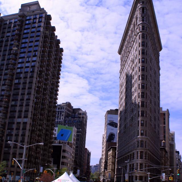 """NYC Flat Iron building"" stock image"