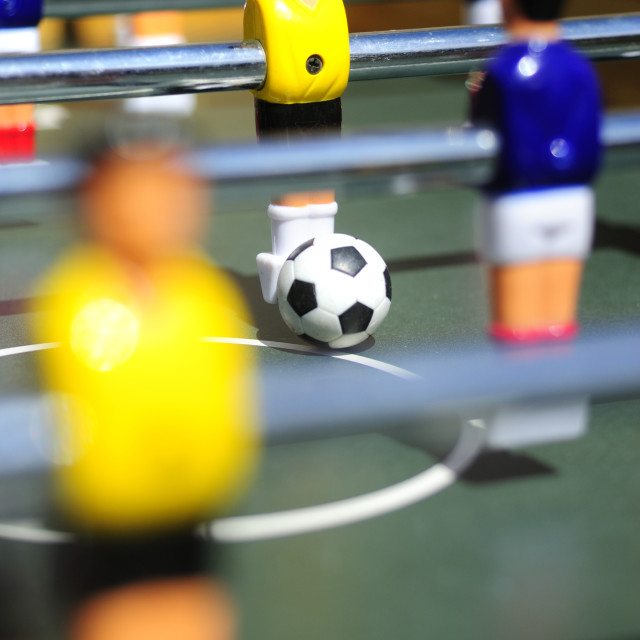 """Table Football"" stock image"