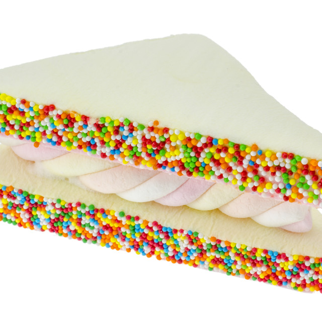 """Marshmallow Sandwich"" stock image"