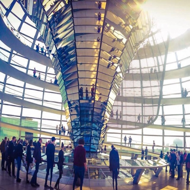 """""""Reichstag Panorama"""" stock image"""