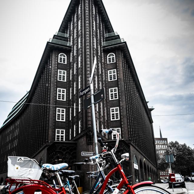 """""""Chilehaus in Hamburg, Germany"""" stock image"""