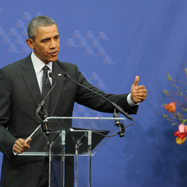 """Obama"" stock image"