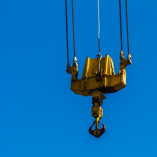 """Hook Crane"" stock image"