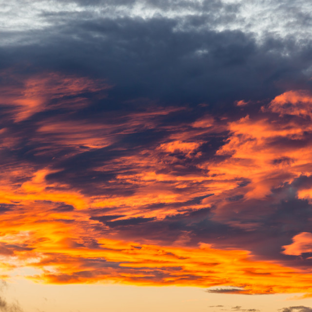 """""""Clouds Color Reflections"""" stock image"""