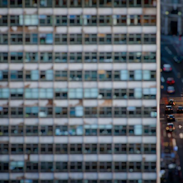 """Office Block, London"" stock image"