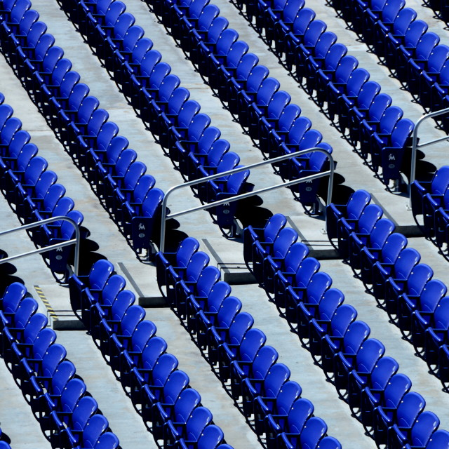 """Seasons Seats"" stock image"