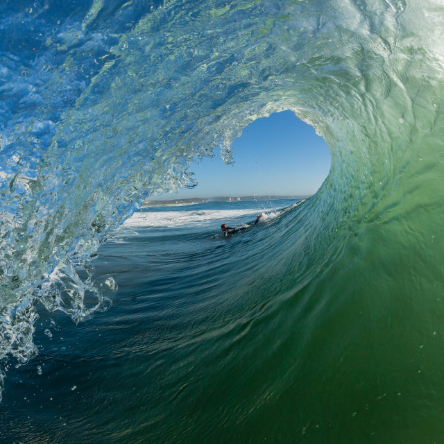 """Wave Inside"" stock image"