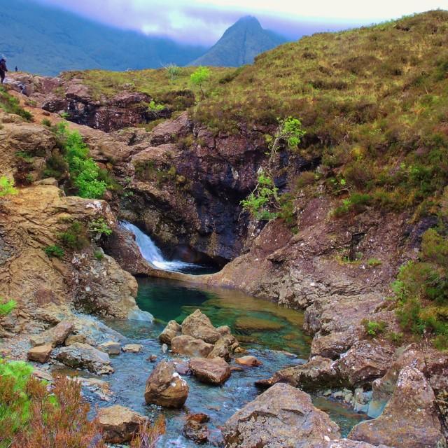 """""""Isle of Skye."""" stock image"""