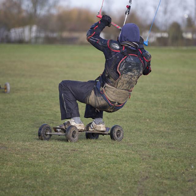 """""""kite boarding"""" stock image"""