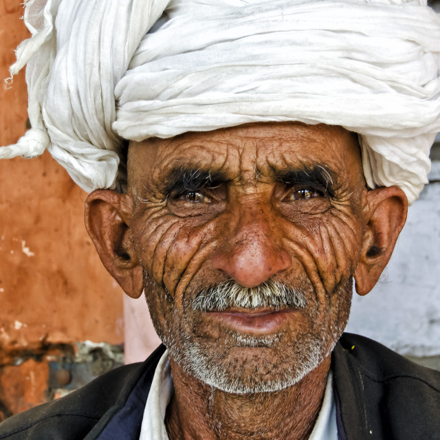 """JAIPUR MAN"" stock image"