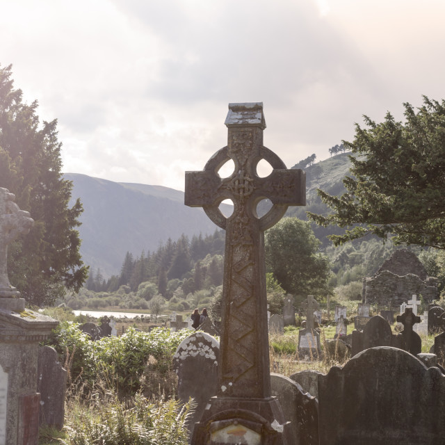 """Celtic Cross"" stock image"