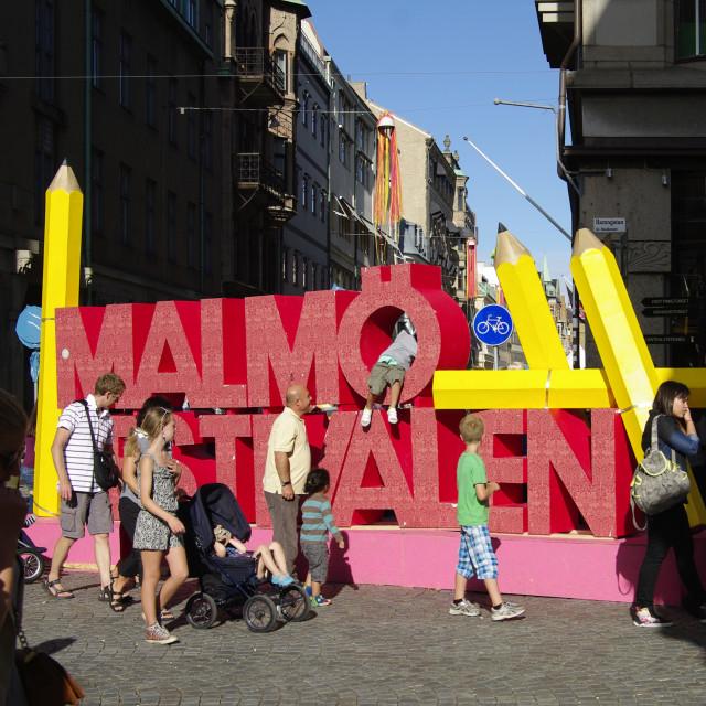 """Malmö Festival"" stock image"