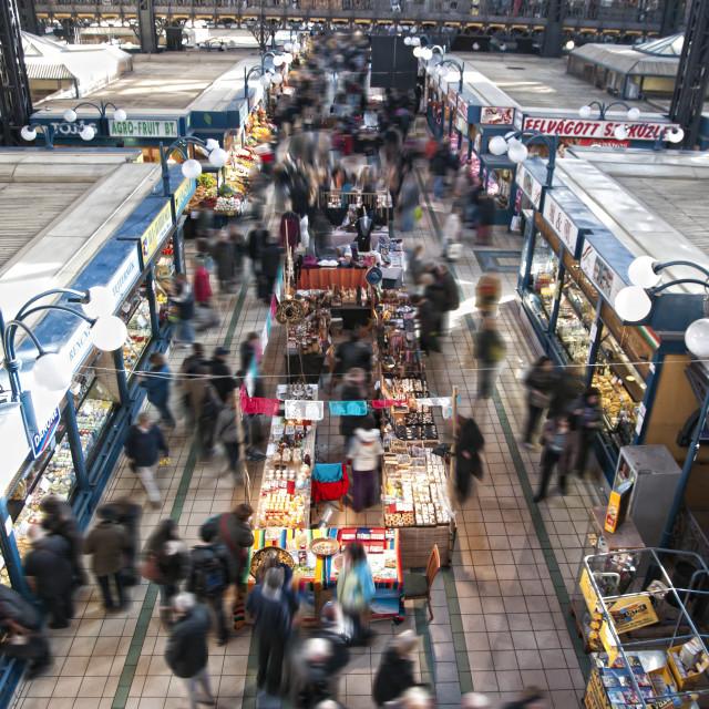 """""""Budapest market"""" stock image"""