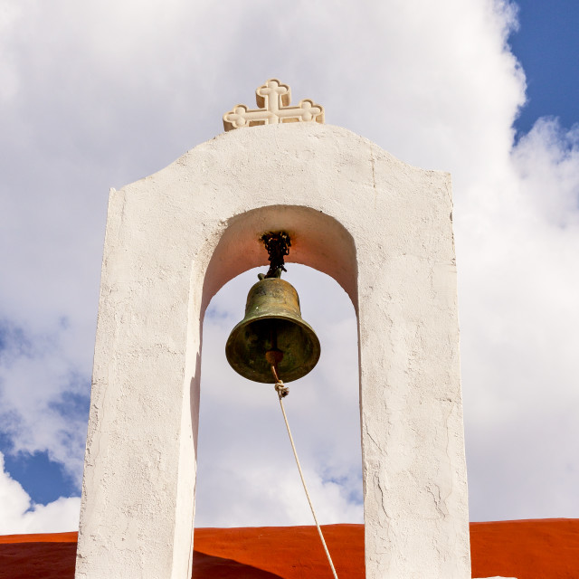 """Chapel Bell"" stock image"