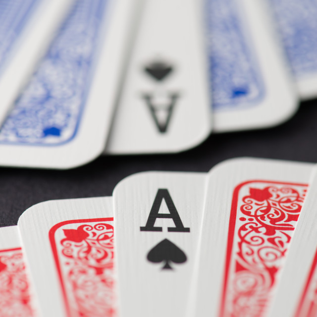 """Aces"" stock image"