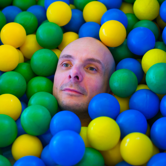 """Ball pit"" stock image"