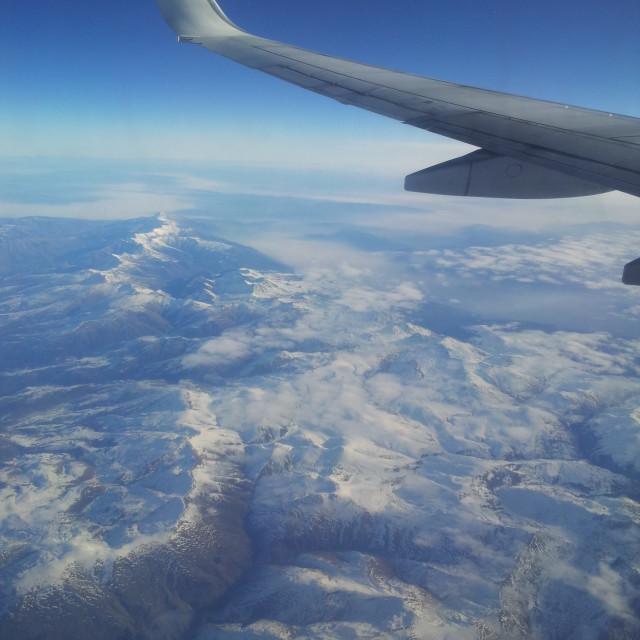 """Snowy Balkans"" stock image"