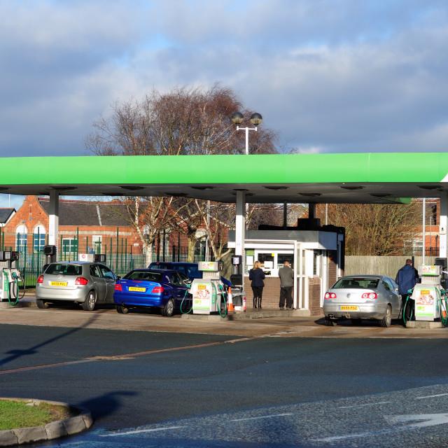 """Asda Fuel Station ."" stock image"
