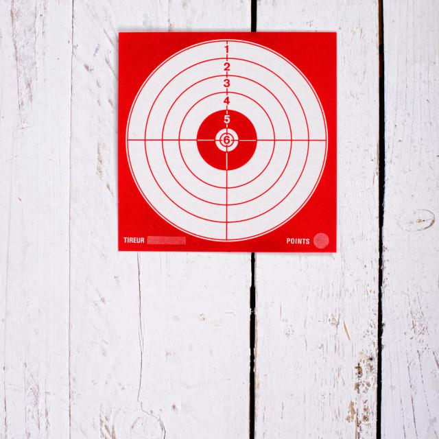 """cardboard target for shooting"" stock image"