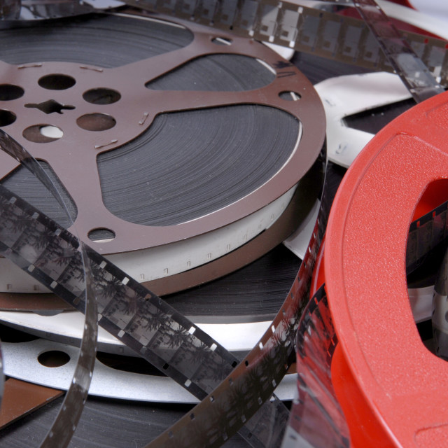 """""""films and reels"""" stock image"""