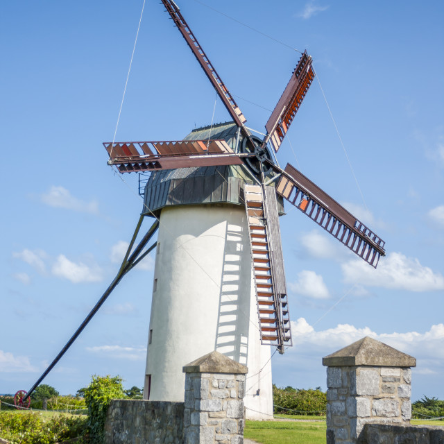 """Skerries Windmills"" stock image"