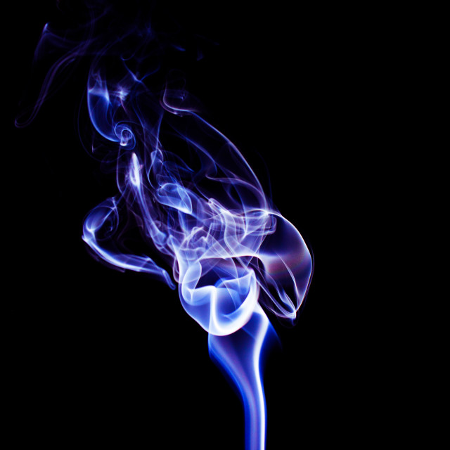"""Abstract smoke"" stock image"
