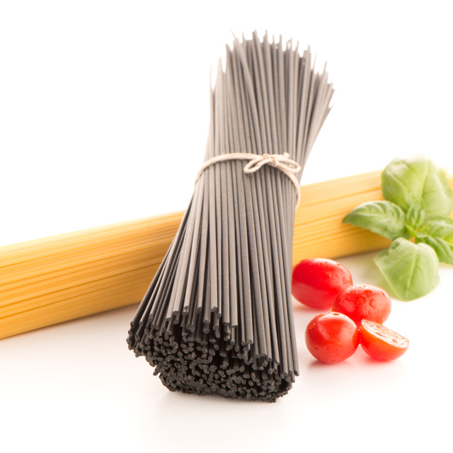 """Bunch of spaghetti"" stock image"