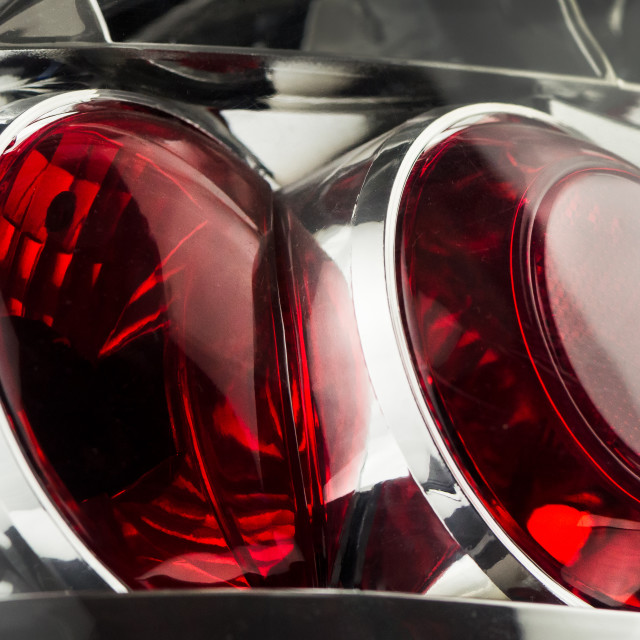 """Automobile lamp"" stock image"
