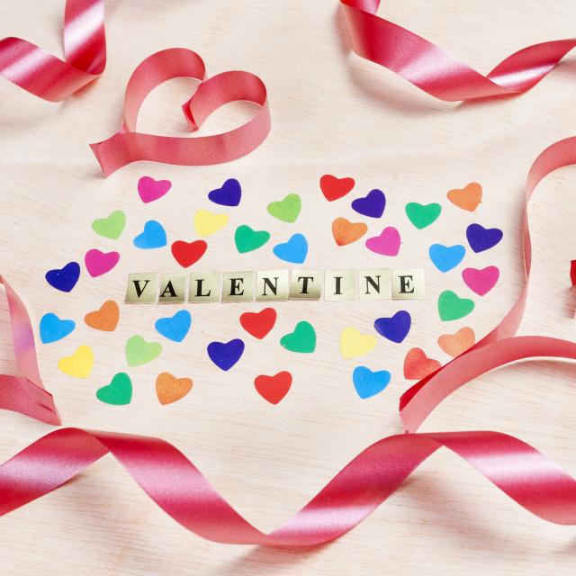 """Valentine background"" stock image"