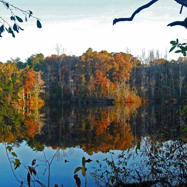 """Tennessee Autumn"" stock image"