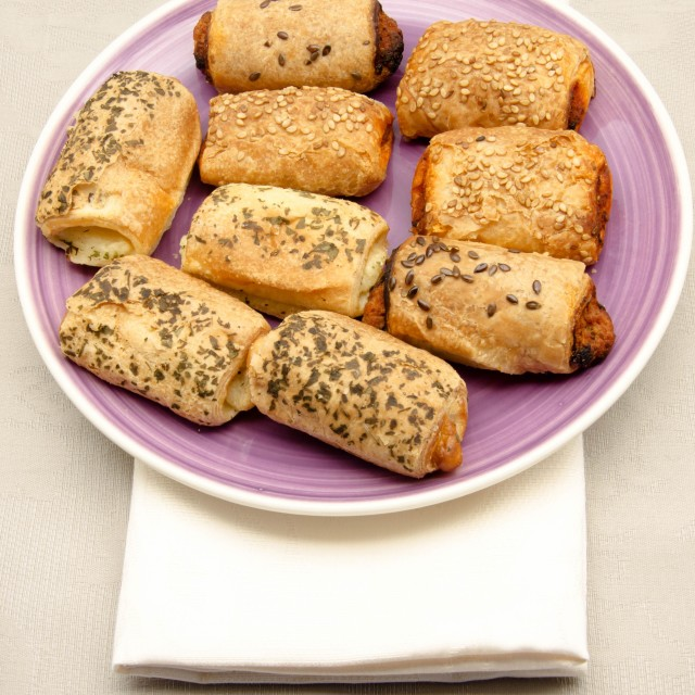 """Puffs pastries"" stock image"