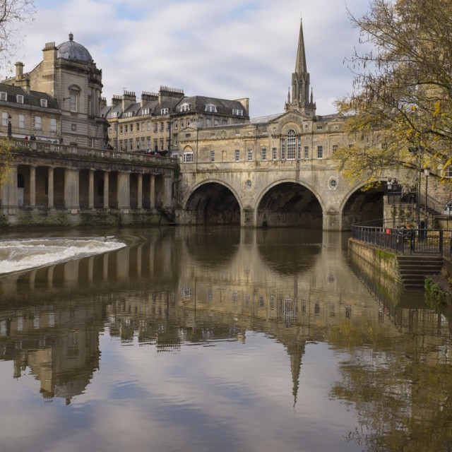 """Pulteney Bridge"" stock image"
