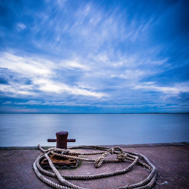 """Evening Tide"" stock image"